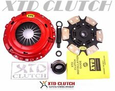XTD STAGE 3 CERAMIC CLUTCH KIT 90-91 ACURA INTEGRA B18 B18A1 S1 Y1 1.8L CABLE