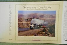 NEW Dust Jacket for Volume 1 of The Northwest's Own Railway