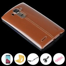 For LG G4 Slim Transparent Case Hard Crystal Clear Thin Cover + Accessory Set
