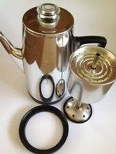1960's Vintage Sona J. 985 Stove Top Coffee Maker Complete & Good Condition