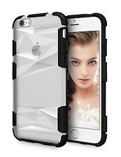 iPhone 6 Plus / 6S Plus Case Premium Hard PC Transparent Bumper 5.5 inch - Black