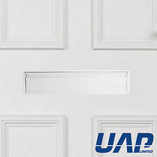 Secured by Design 12 Inch White Letterbox (For 20-40mm Thick Doors)