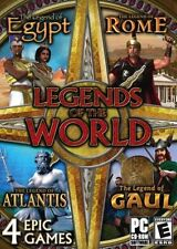 Legends of the World 4 EPIC GAMES (PC-CD) BRAND NEW SEALED