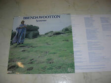 BRENDA WOOTTON Lyonesse *FOLKLEGEND ORIGINAL RCA LP + INNERSLEEVE 1982*