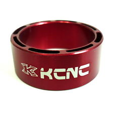 gobike88 KCNC Hollow Design Headset Spacer, 14mm, Red, Made in Taiwan, 651