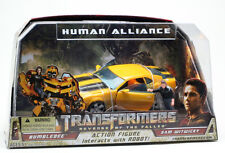 TRANSFORMERS 2 REVENGE OF THE FALLEN MOVIE HUMAN ALLIANCE BUMBLEBEE WITH SAM WIT