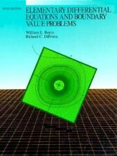 Elementary Differential Equations and Boundary Value Problems-ExLibrary