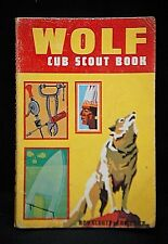 Old Vintage Historical BSA Boy Scouts of America Book 1967 Wolf Cub Handbook USA