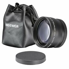 Neewer 58Mm 2X Telephoto Lens ~Including Lens Bag~ For Canon Rebel T1I Xt Xs Xsi