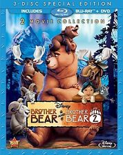DISNEY: BROTHER BEAR & BROTHER BEAR 2  - Blu Ray - Sealed Region free for UK