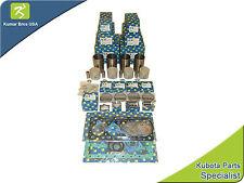 """New Bobcat 743 Overhaul Kit STD with LINER """"KUBOTA V1702"""""""