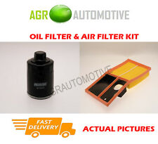 PETROL SERVICE KIT OIL AIR FILTER FOR SEAT IBIZA SC 1.4 86 BHP 2008-