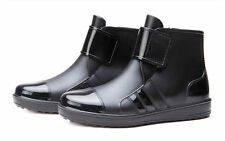 Mens Waterproof Rubber Ankle Rain Boots (UK Size 8)