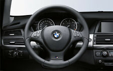 BMW Genuine M Sport Steering Wheel Cover Trim - Black -  BMW E70 X5 3.0si 4.8i