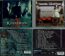 2 CDs, King Of Hearts - 1989 (2011) + Sonic Station - Next Stop +4 (2016) AOR