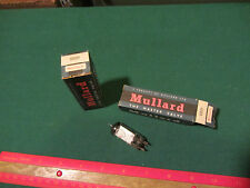 Vintage Lot of 2 2D21 Electron Tubes Mullard untested