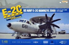 E-2C U.S. NAVY HAWKEYE 2000  KINETIC 1/48 PLASTIC KIT