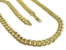 "24"" 6mm GOLD plated CUBAN chain hiphop bling chains"