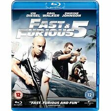 FAST AND THE FURIOUS 5 - BLU RAY - NEW / SEALED