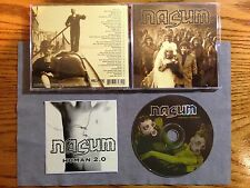 NASUM - INHALE / EXHALE + STICKER 1998 1PR MINT!  NAPALM DEATH NECRONY CARCASS