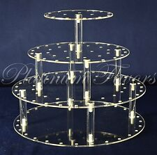 Cake Pop or Cupcake Acrylic Display Stand Round 39 Holes