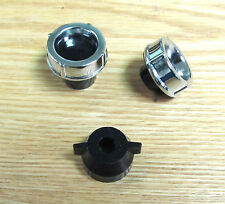 1957 CHEVY  RADIO KNOBS  set of 3  new