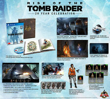 Rise of the Tomb Raider 20 Year Celebration Edition PS4 BRAND NEW AUS VERSION
