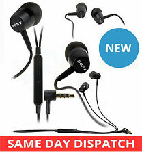 GENUINE SONY HANDSFREE HEADSET MH 750 STEREO EARPHONES FOR XPERIA Z1 Z Z ULTRA