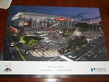 Louisville Cardinals Basketball KFC Yum! Center Grand Opening Poster 10/10/10