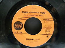 BOURVIL / PIERRETTE BRUNO 45G1490 JUKE BOX