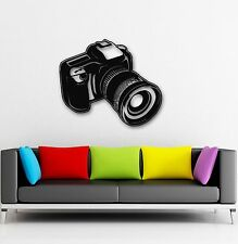Wall Stickers Vinyl Decal Camera Photo Art Photography Coolest Decor (ig875)