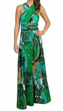 VON VONNI Women's Green Jewels Transformer Dress Long One Size VVL101 $120