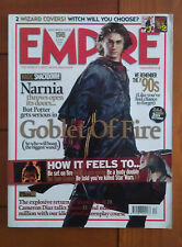 Empire December 2005 Harry Potter & the Goblet of Fire (Daniel Radcliffe) Cover