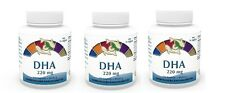 Vita World 3er Pack DHA 220mg Marines Omega 3 concentrato 3 x 120 capsule EPA