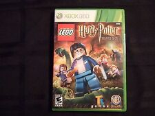 Replacement Case (NO GAME) LEGO HARRY POTTER YEARS 5-7  XBOX 360