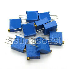 100 x 3296W 3296 Trimmer Potentiometer 200K Ohm Pot Variable Resistor 3296W- 204