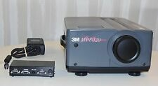 3M MP8020 portable multimedia tabletop lcd video display projector w/case &xtras