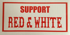 "Hells Angels ""SUPPORT RED & WHITE"" Aufkleber Sticker Original 81 Sticker"