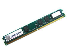 Transcend TS256MLQ64V8U PC2-6400U 2GB 2Rx8 Low Profile DDR2 RAM Memory 800MHz