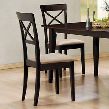 Coaster Fine Furniture 100774 Mix & Match Cross Back Side Dining Chair (Set