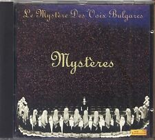 LE MYSTERE DES VOIX BULGARES - Mysteres - CD 1992 NEAR MINT CONDITION