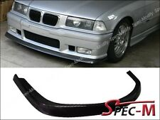 Carbon Fiber A Type Front Spoiler Bumper Lip Fit BMW M3 1992-1998 E36 M3 Coupe