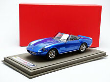 BBR 1967 Ferrari 275 GTS/4 Spider NART Mc Queen Blue LE of 200 BBR1824 1/18 New!