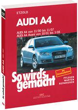 AUDI A4 B6 B7 Avant Reparaturbuch So wirds gemacht Jetzt helfe ich mir selbst