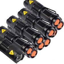 10 x LED cree q5 Hell linterna luz de mano mini outdoor Flashlight Torchlight