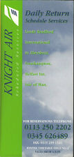 Knight Air system timetable 9/4/95 [210-3]