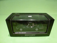 MINICHAMPS 130431 JAGUAR XJS CABRIOLET - BRITISH RACING GREEN - RARE 1:43 - NMIB