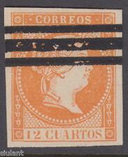 ISABEL II Nº NE1AS - AÑO 1855 - NO EXPENDIDO - PRECIO CATALOGO: 210 €UROS