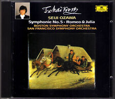Seiji OZAWA: TCHAIKOVSKY Symphony No.5 Romeo and Juliet CD Tschaikowski Sinfonie