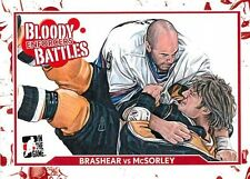 Brashear 58 2011-12 In The Game Enforcers Bloody Battles McSorely